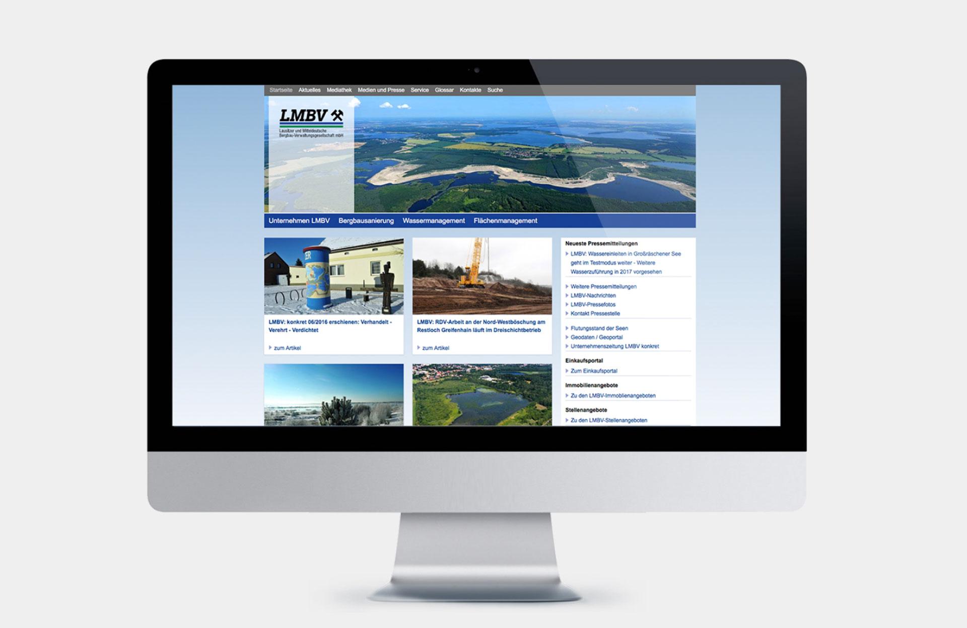 LMBV Webseite