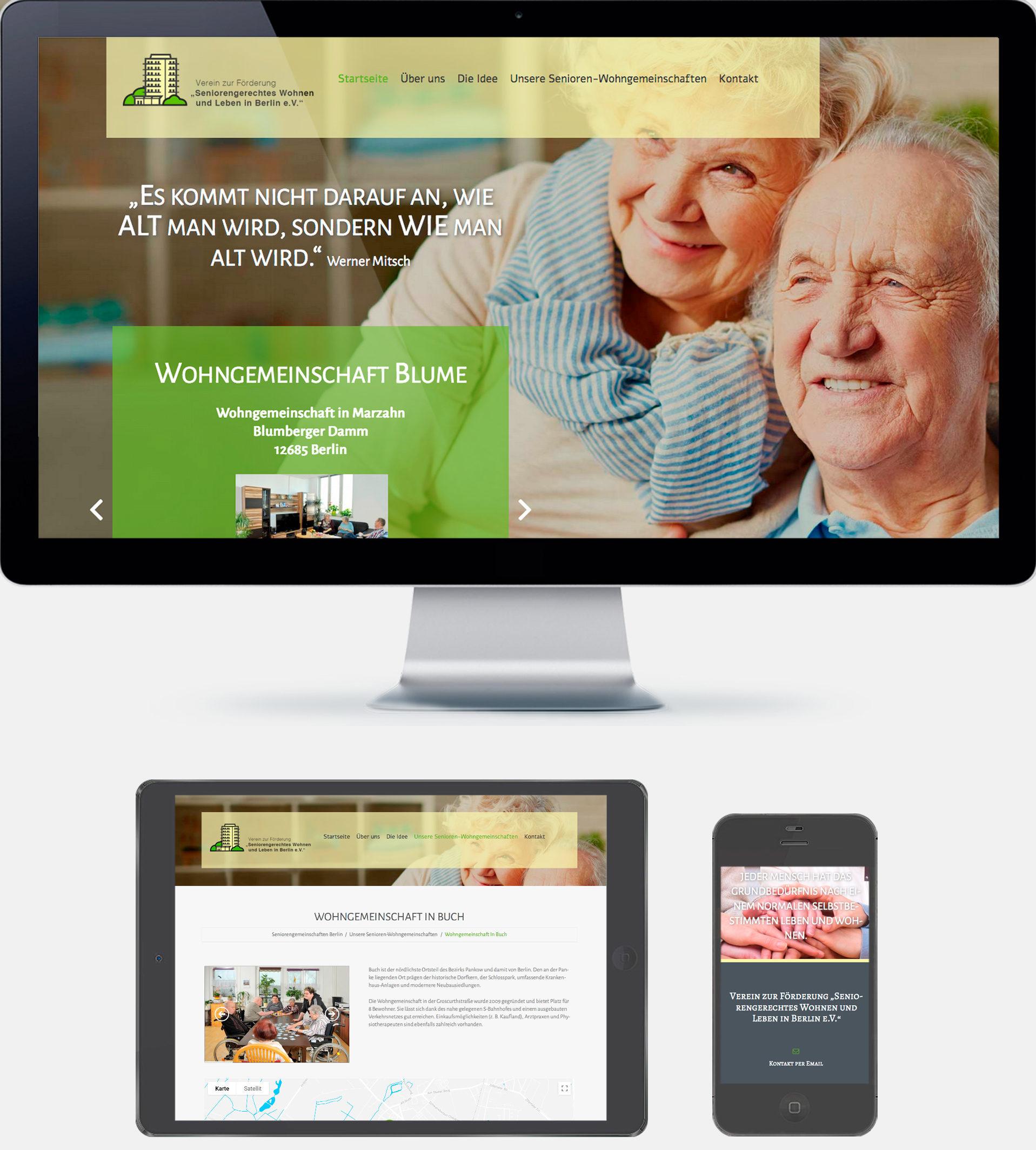 Seniorenverein Webseite 2019