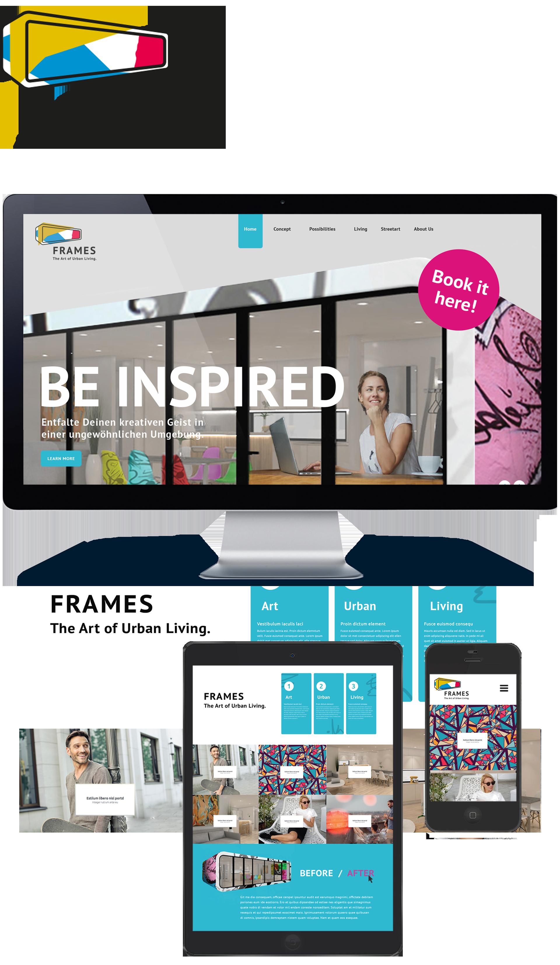 Frames Webseite 2017