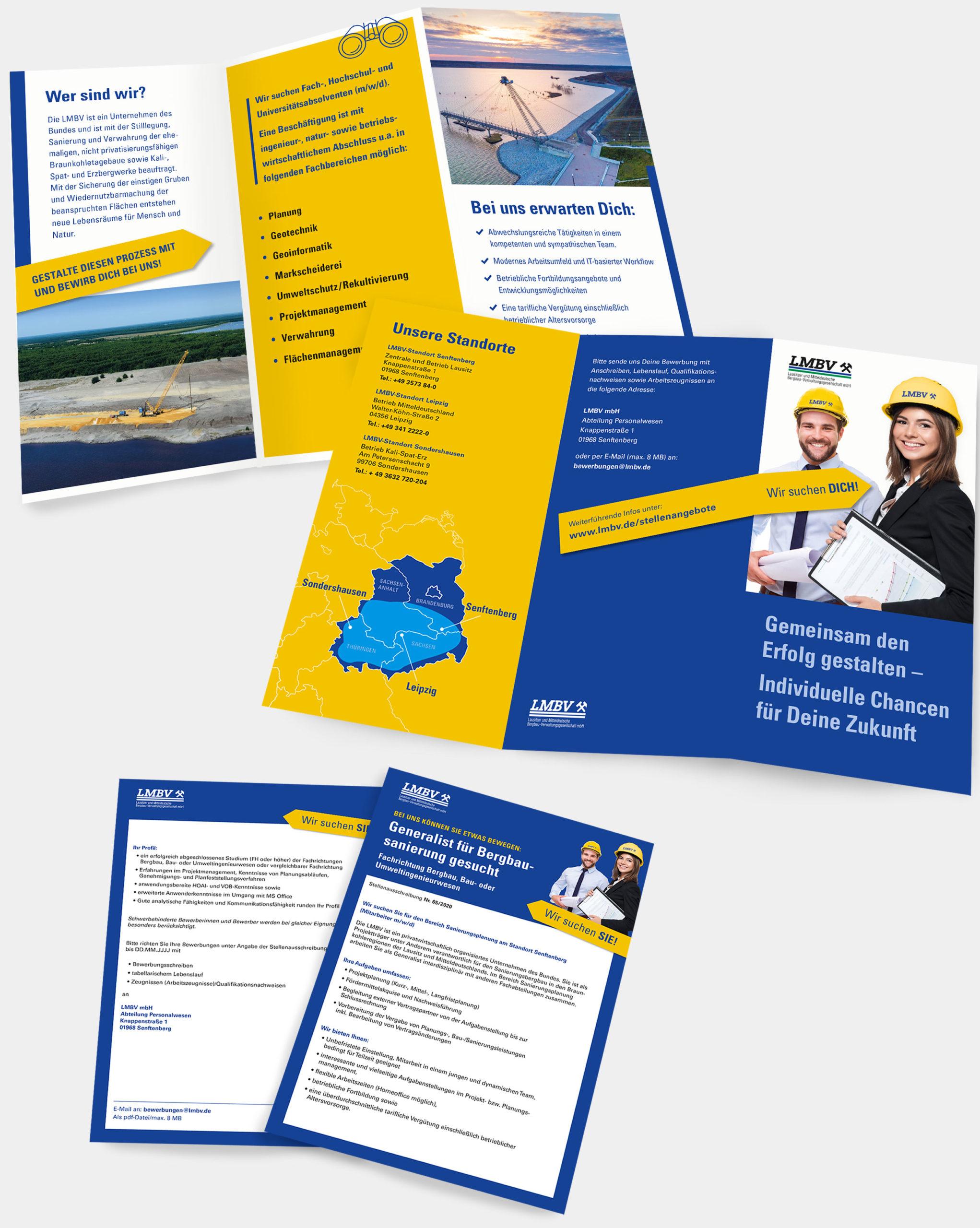 Referenz agreement - LMBV-Karriere-Flyer