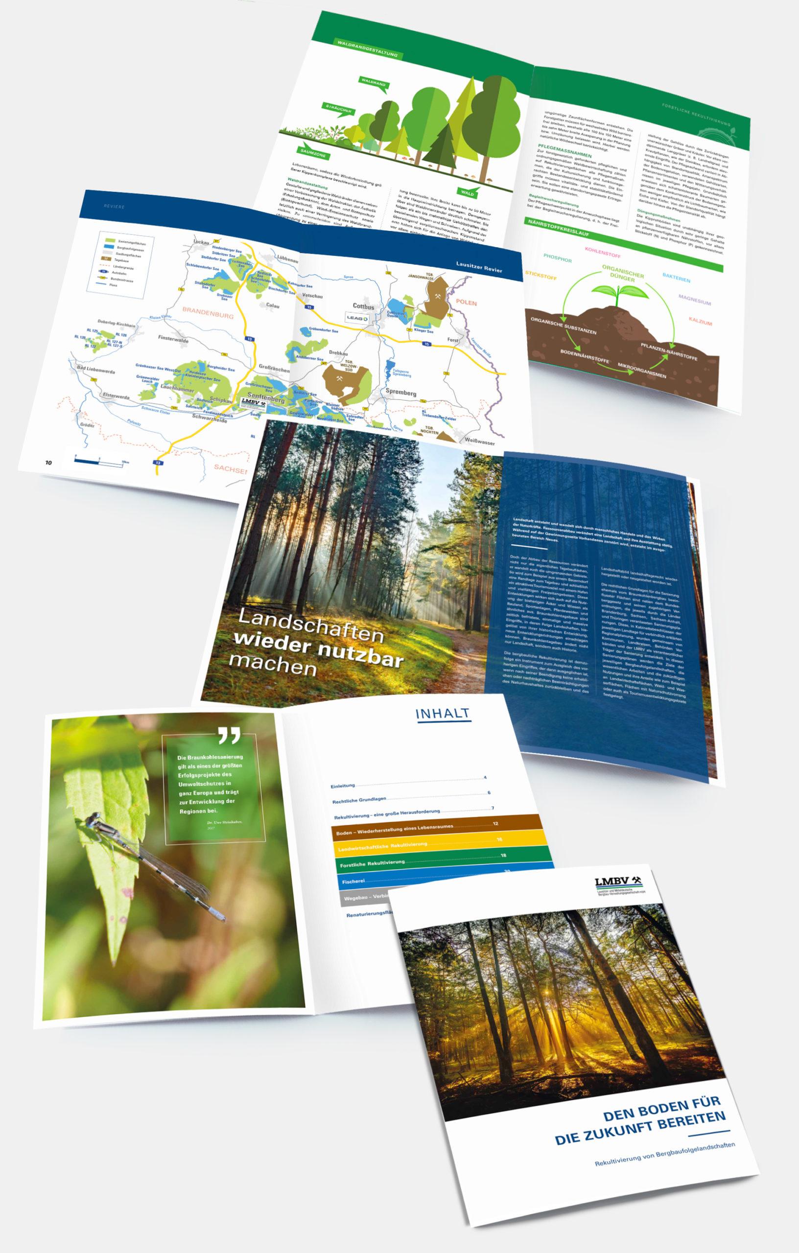 Referenz agreement - LMBV-Broschüre Rekultivierung