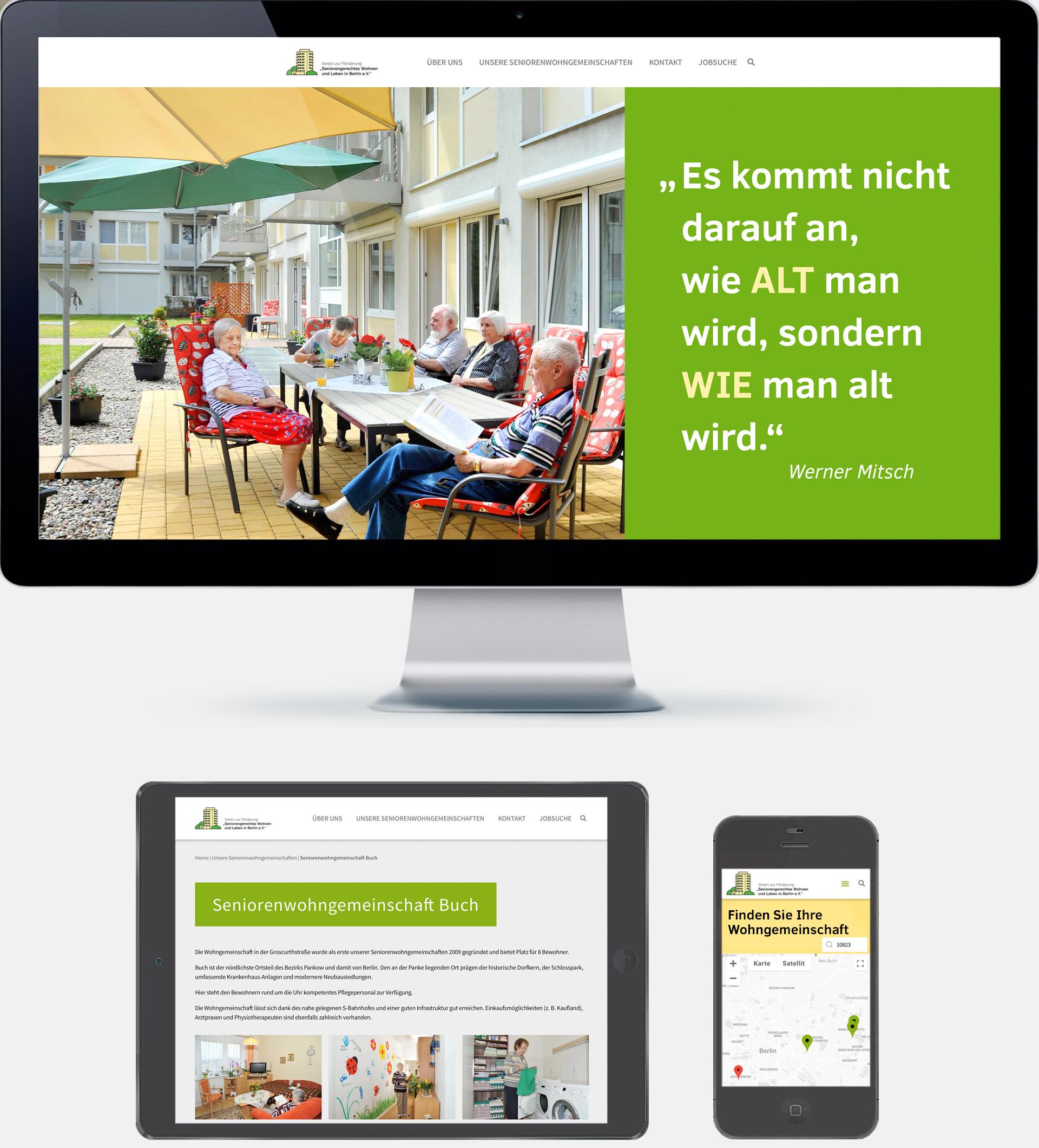 Referenz agreement - Website Seniorenverein